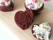 Valentin recette cœurs Velvet Cake