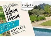 ASSOCIATION PROJETS (Alpilles Lubéron) 1ère édition Salon Réseau d'Entreprises Maison Jardin 2017 Maillane (13) avec paysagiste Jean invité d'honneur