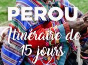 jours Pérou