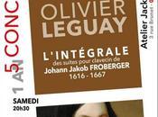 Concert suites pour clavecin Froberger Olivier Leguay