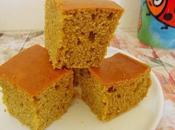 Gâteau moelleux farine maïs