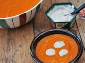 Soupe poivrons rouge Saint Agur