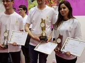 podium l'Oscar jeunes fleuristes 2017