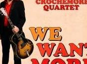 Album Want More Mathieu Crochemore Quartet.