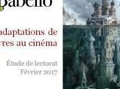 Babelio présente étude adaptations livres cinéma