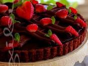 ~Tarte choco-fraise~