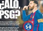 Barça/P.S.G réactions Twitter