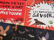Feuilletage d'albums Documentaires petit livre d'art pour raconter l'Histoire incroyables savoirs Petits animaux nuit Dessus Dessous Autour monde