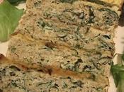 Terrine poisson curcuma-roquette