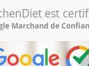 Kitchendiet, site Google marchand confiance