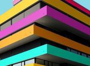 Lassé grisaille immeubles berlinois, étudiant recolorise arc-en-ciel