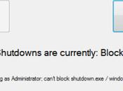 Comment empêcher Windows redémarrer, s'arrêter vous déconnecter