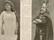 première Tristan Yseult Paris octobre 1899. coupure presse.