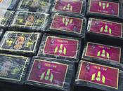 Coup filet énorme cocaïne l'effigie Lionel Messi