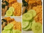 Blettes sautées, boulgour pois chiches curry thermomix sans (vegan)