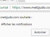 Expérimentation notification