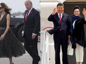 Sommet XI-Trump quelles robes porter premières dames