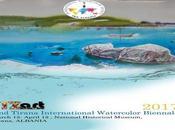 Tirana international watercolor Biennal 2ème biennale d'aquarelle l'IWS