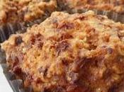 Muffins l'avoine carottes