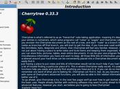 CherryTree organiseur hiérarchique données