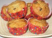 Muffins bananes pépites chocolat banana-chocolate chips muffins bananas chispas chocolate مافن الموز حبيبات الشوكولاتة