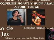 tango pur, chez Jacqueline, samedi soir l'affiche]