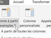 Power Ajouter colonnes transformations données l'aide d'exemples