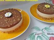 Petits bavarois vanille-chocolat