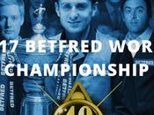 Championnat monde snooker déroule moment