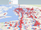 avantages d'utiliser cartes géographiques pour analyser données