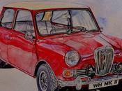 Wolseley hornett 1964 rouge
