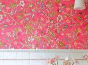 Osez papier floral rose