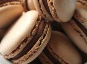 Macaron chocolat lait Earl Grey