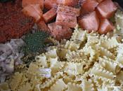 pasta saumon