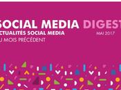 Social Media Digest retour actualités réseaux sociaux