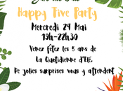 Happy Five Party +Concours)
