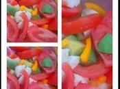 Salade tomates, avocats, mozza poivron jaune