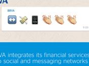 BBVA intègre banque dans messageries