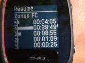 Test Polar M430 coach cardio optique jusqu'à 185bpm