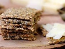 Crackers graines farine petit épeautre