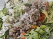 Hachis courgettes/riz