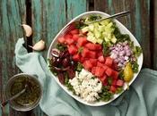 Salade grecque melon d'eau