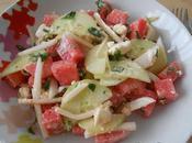 Salade grecque pastèque