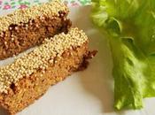 Barres céréales salées (Vegan)