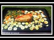 Filet dinde, courgettes, tomates, carottes poivrons plancha