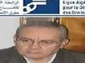 Salah Debouz, président (LADDH):Communiqué