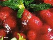 Fruits rouges gelée, menthe poivrée