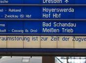 Plusieurs lignes ferroviaires incendiées Allemagne