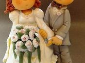 Couple Mariés porcelaine froide
