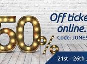 ODEON -50% juin 2017